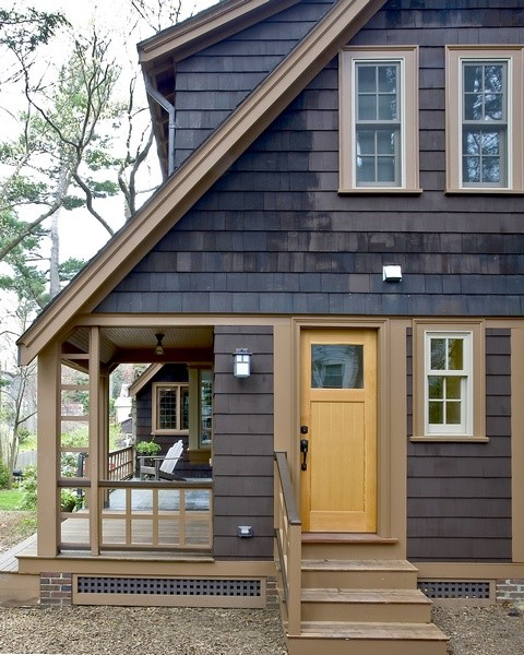 Shingle Style traditional exterior