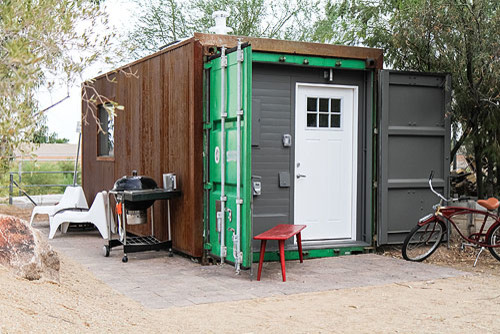 Shipping Container Tiny House - Modern - Exterior - Phoenix - By