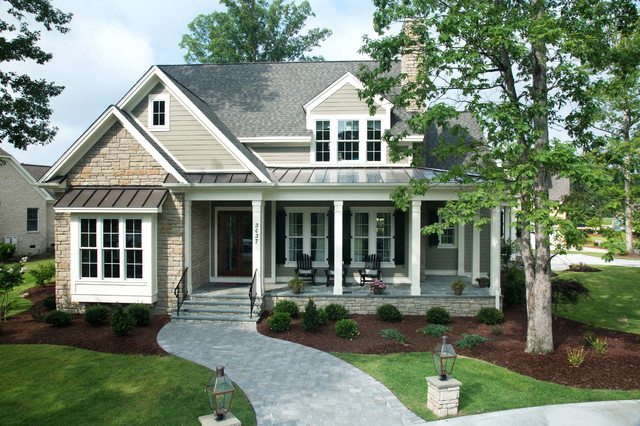Shook Hill Traditional Exterior Raleigh By Tab
