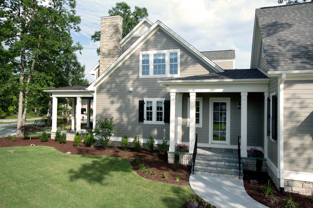 Shook Hill - Traditional - Exterior - Raleigh - by Tab Premium Built ...