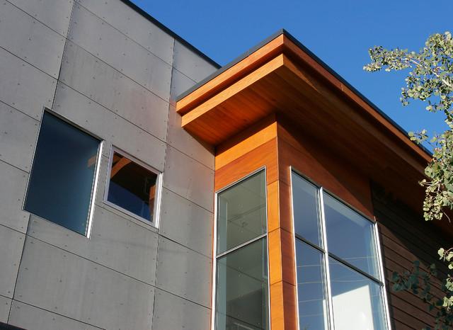 Short Street House - Modern - Exterior - Denver - by WEST ELEVATION ARCHITECTS INC