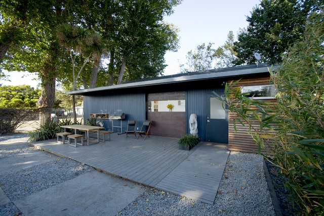 shoup residence + office compound industrial-exterior