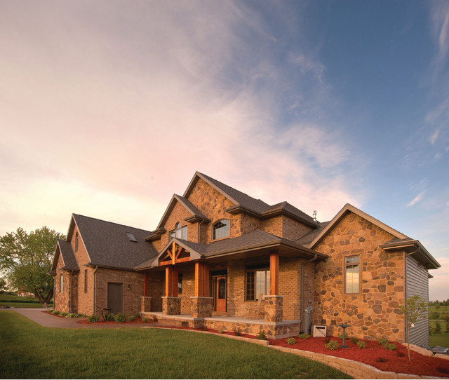 Showcase of New Homes traditional exterior