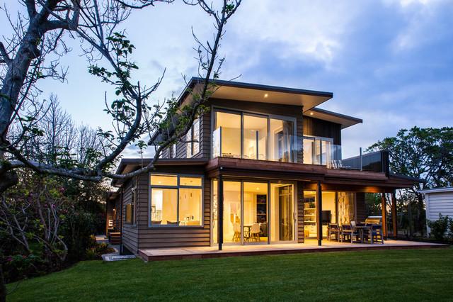 Northland Showhome - Beach Style - Exterior - Auckland - by Craig Cogan Builder Ltd
