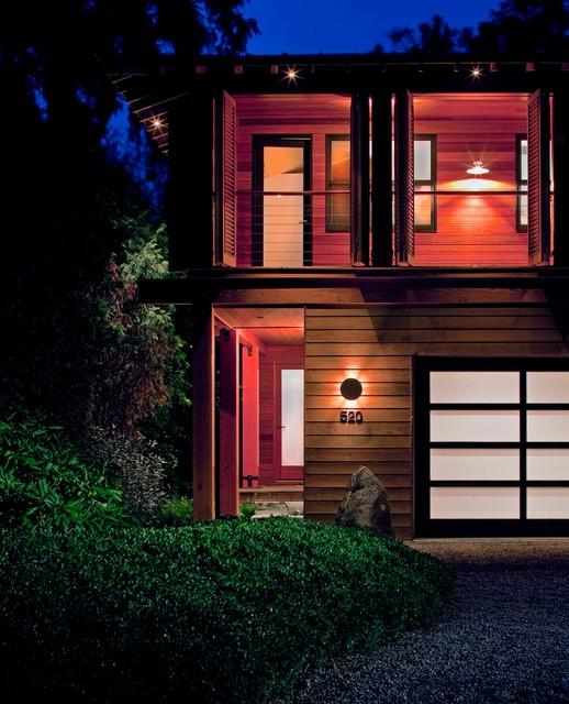 Shutter House contemporary-exterior
