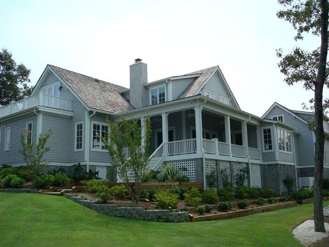Side Elevation traditional-exterior