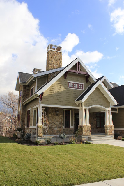 Side Exterior Craftsman Salt Lake City By
