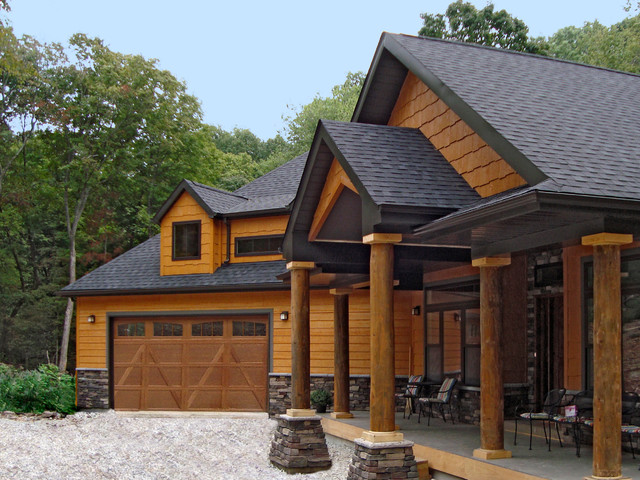 Siding and shakes in diamond kote maple exterior by diamond kote for Diamond kote lp siding colors