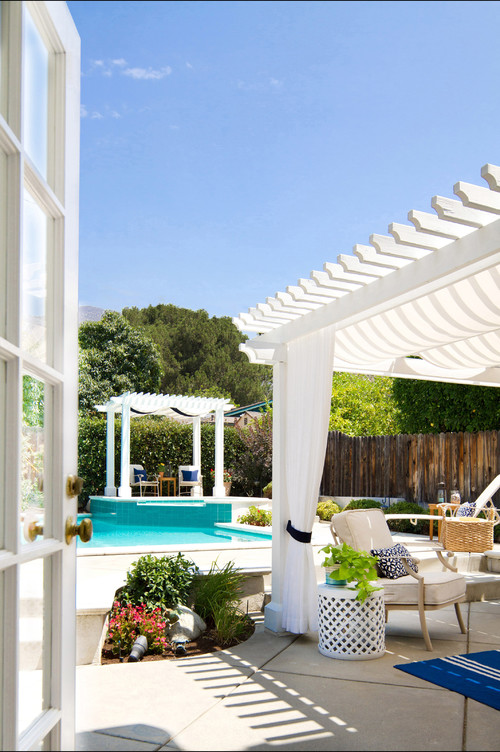 Sierra Madre Summer Patio by Talianko Design Group