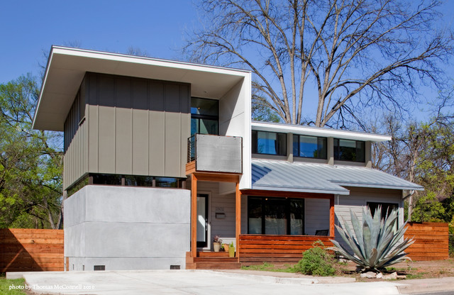 Silver Agave House contemporary-exterior