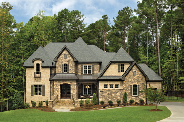 Silver oak 1222 traditional exterior raleigh by for Traditional home exterior