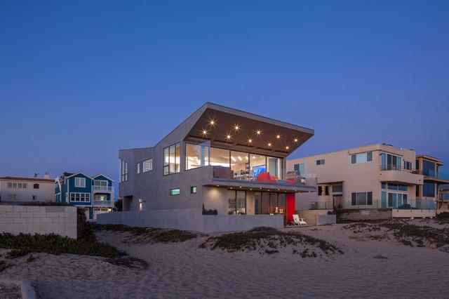Silver Strand Beach House Contemporary Exterior Los