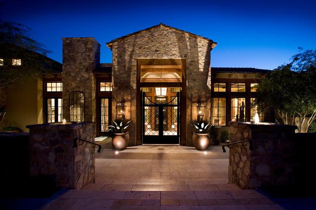 Silverleaf Ranch Hacienda Entry Exterior Mediterranean