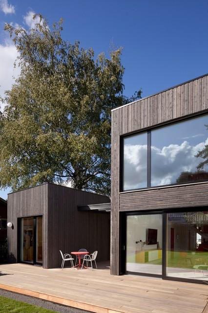 skidmore passivhaus contemporary exterior portland by in situ architecture. Black Bedroom Furniture Sets. Home Design Ideas