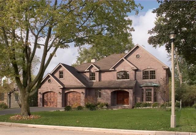Skokie Custom Home Traditional Exterior Chicago By
