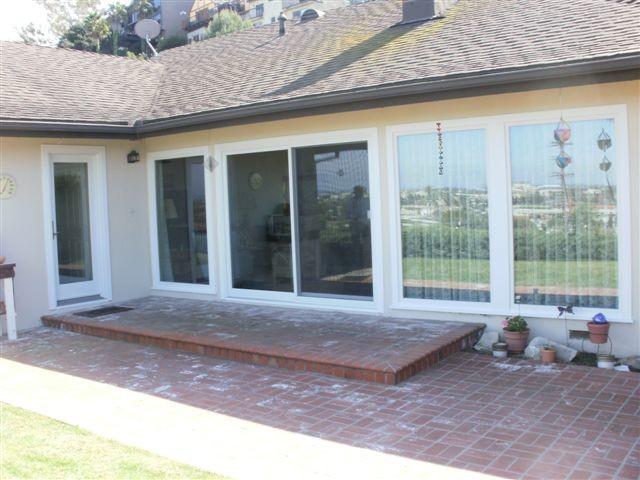 sliding patio doors traditional exterior