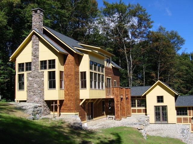 Slopeside Solitude House contemporary-exterior