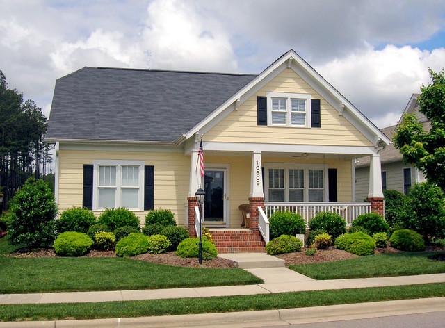 small house at falls river   traditional   exterior