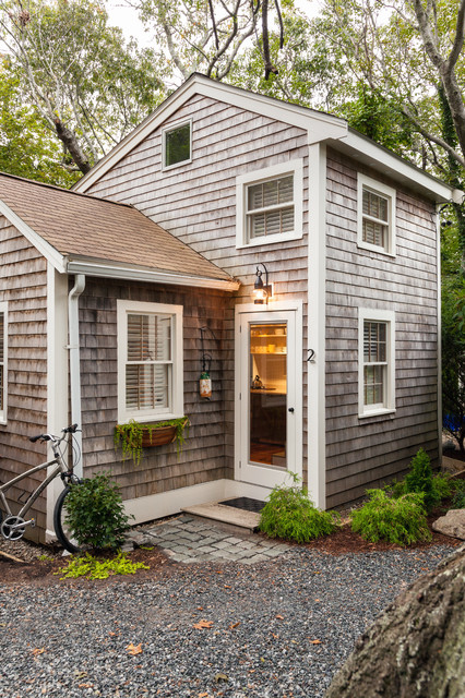 Small Renovation Modern Provincetown Cottage