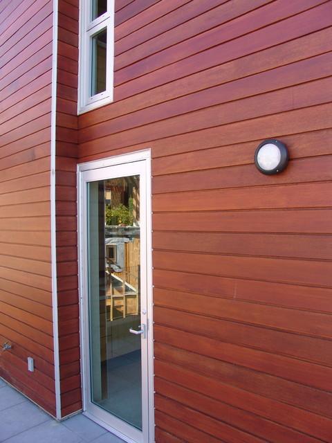 Small space modern modern-exterior