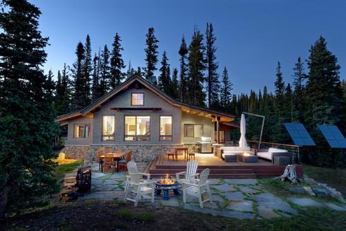 ไอเดียบ้านชั้นเดียว 06 Parapine Cabin