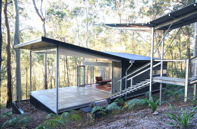 Smiths Lake House Contemporary Exterior Sydney By Sandberg Schoffel Architects