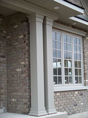 Smooth Non Tapered Exterior Pvc Column Wraps Traditional Outdoor Products Toronto By