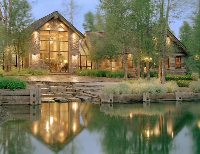 Snake River Residence Rustic Exterior Other By Jlf