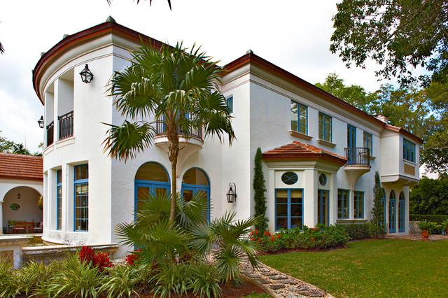 Snapper Creek Villa mediterranean-exterior
