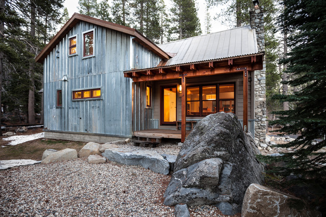 Snow County Cabin Remodel Addition Contemporary Exterior