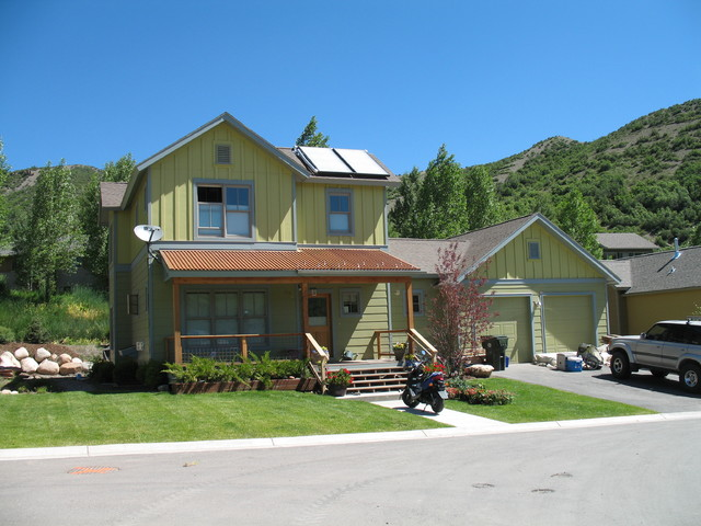 Snowmass traditional exterior