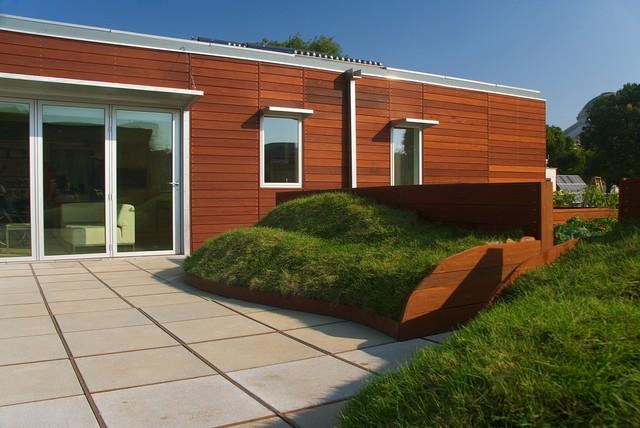 Solar Decathlon House modern-exterior