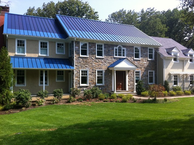 Solar Metal Roofing - Traditional - Exterior - other metro - by Global ...