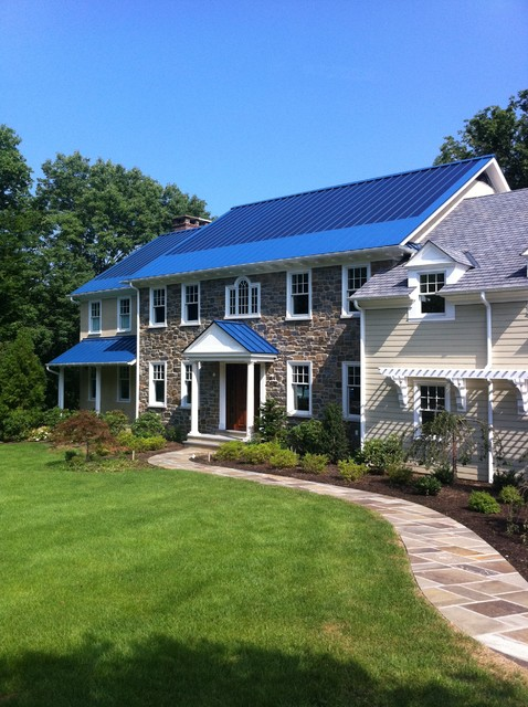 Solar Metal Roofing Traditional Exterior Other By Global Home Improvement