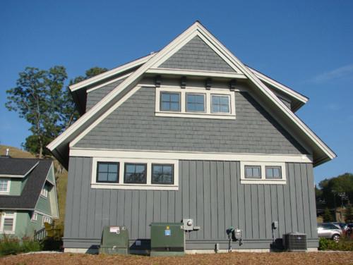 Solid Cedar Siding Colors Traditional Exterior Grand Rapids – Cedar Shingle Roof Peak