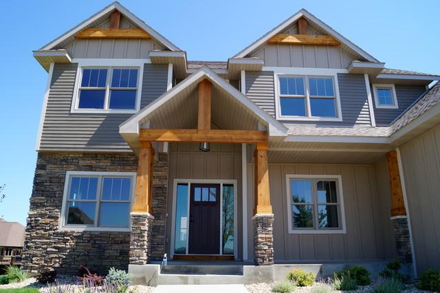 Somerby Model Home contemporary-exterior