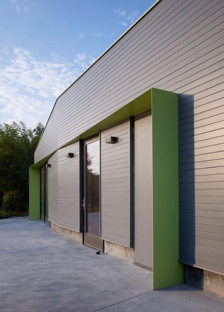 Sonoma Pool House contemporary-exterior