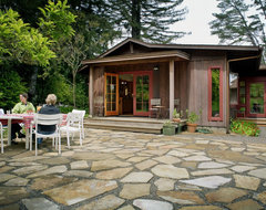Sonoma Residence rustic-exterior
