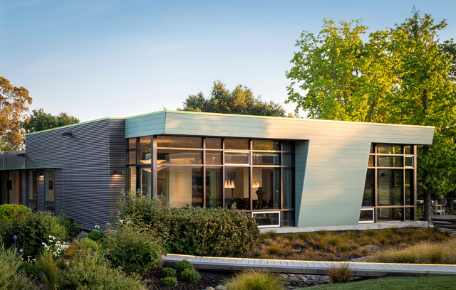Sonoma Residence - Contemporary - Exterior - san francisco - by Tim D ...