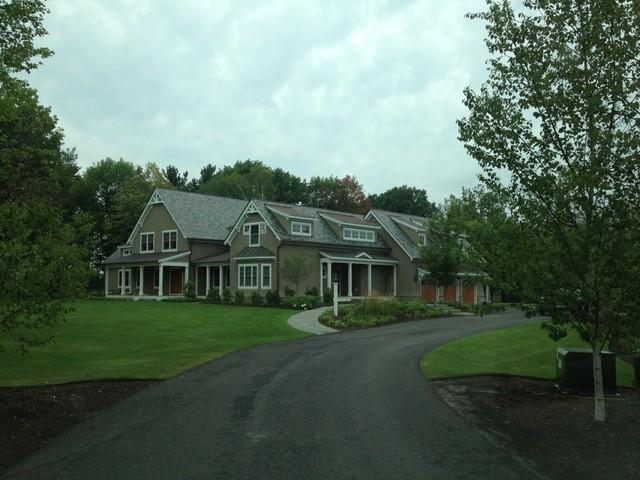 South Burlington Poolscape, Entry and Gardens traditional-exterior