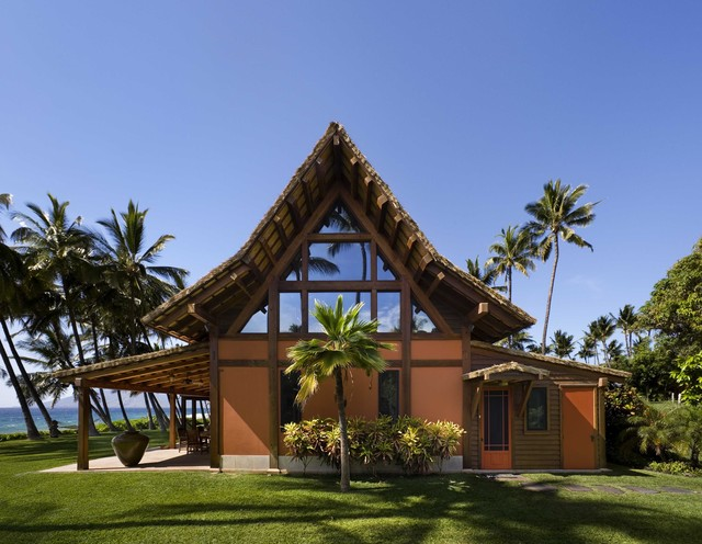 South Elevation Tropical Exterior Hawaii By Ike