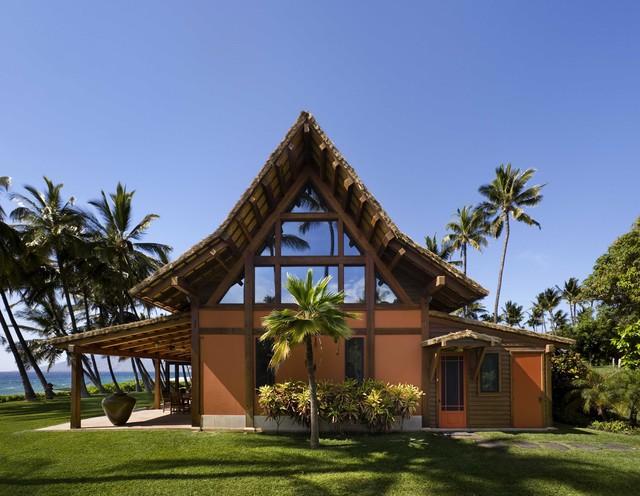 Surf Hawaiian and Tropical Shower Curtains