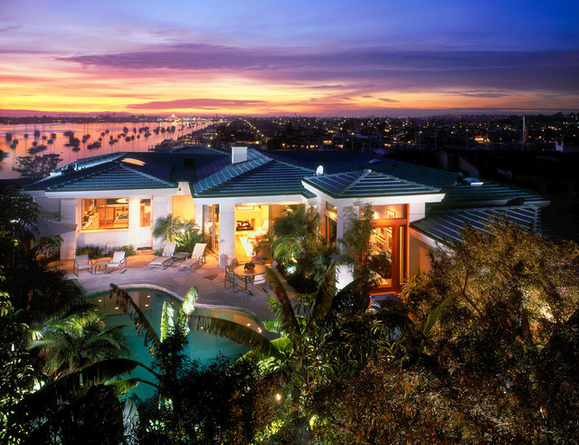 South Pacific Polynesian Architecture contemporary-exterior