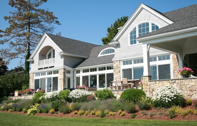 Inspiration for a beach style exterior home remodel in Boston