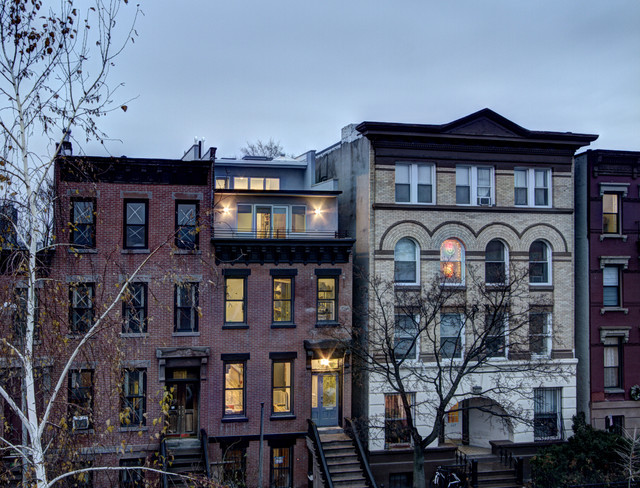 South Slope Penthouse Addition Modern Exterior New