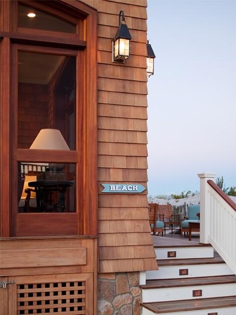 South Surf Road Beach Style Exterior New York By Richard Bubnowski Design Llc