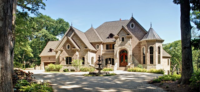 Southampton builders luxury custom home in st charles for Large custom home plans