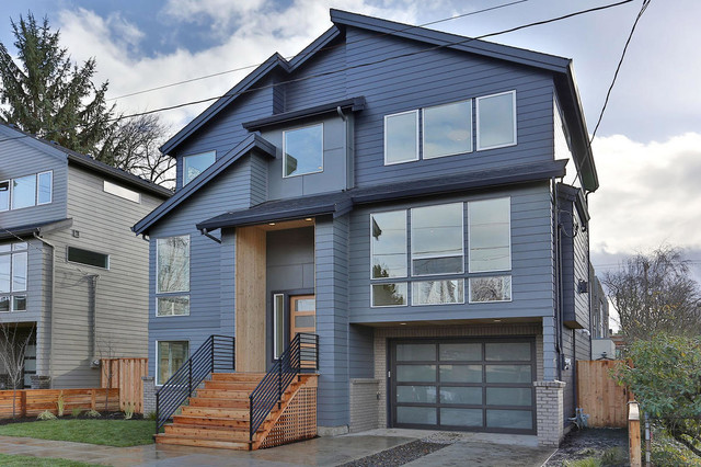 Southeast Portland Home New Construction Contemporary