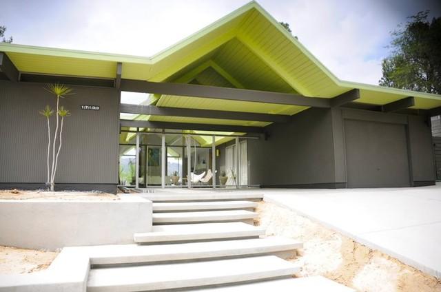 Southern California Eichler modern-exterior