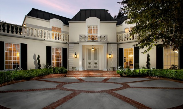 Southern california homes traditional exterior los for California los angeles houses